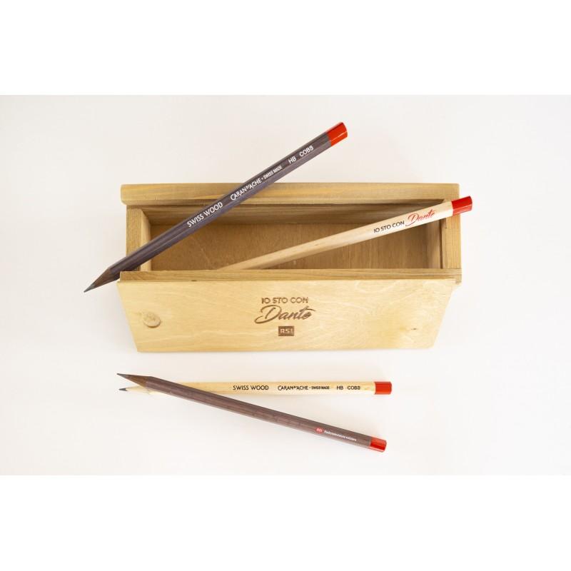 Portamtite con 2 matite - Io sto cona Dante